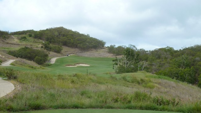 View from the 10th tee at Hamilton Island Golf Club