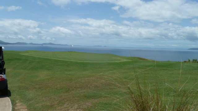 View of the 14th green at Hamilton Island Golf Club
