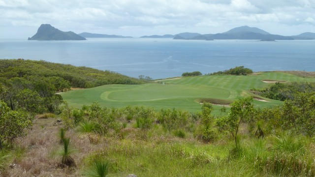 View from the 14th tee at Hamilton Island Golf Club