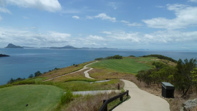 View from the 15th tee at Hamilton Island Golf Club
