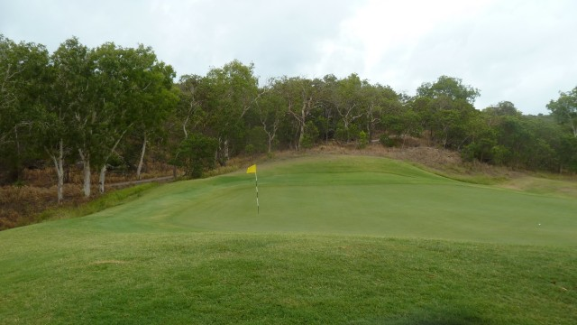 View of the 2nd green at Hamilton Island Golf Club