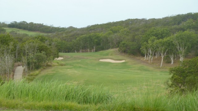 View from the 2nd tee at Hamilton Island Golf Club