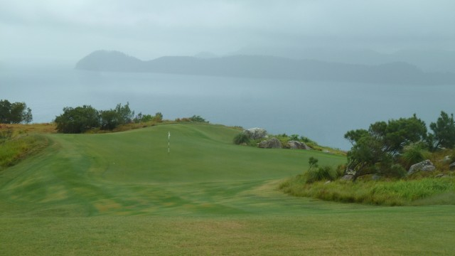 View of the 4th green at Hamilton Island Golf Club