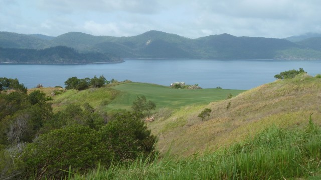 View from the 4th tee at Hamilton Island Golf Club