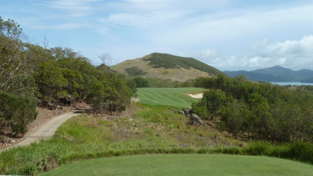 View from the 7th tee at Hamilton Island Golf Club