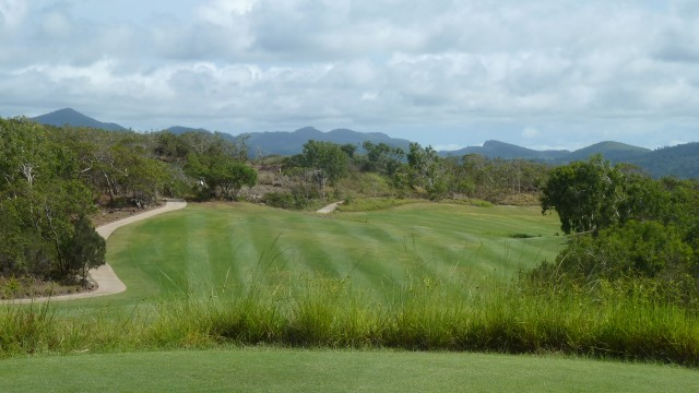 View from the 9th tee at Hamilton Island Golf Club