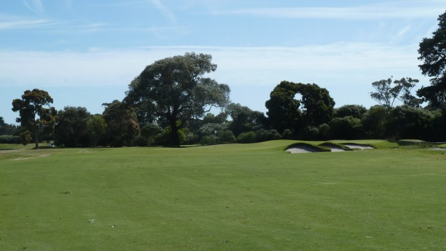 The 13th fairway at Kingston Heath Golf Club