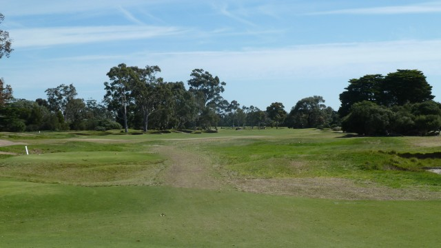 The 13th tee at Kingston Heath Golf Club