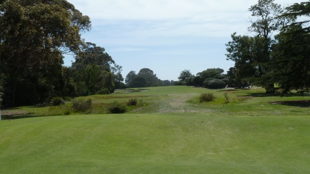 The 17th tee at Kingston Heath Golf Club
