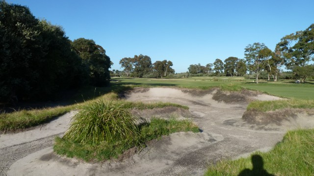 The 2nd fairway at Kingston Heath Golf Club