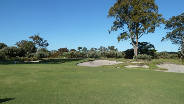 The 3rd fairway at Kingston Heath Golf Club