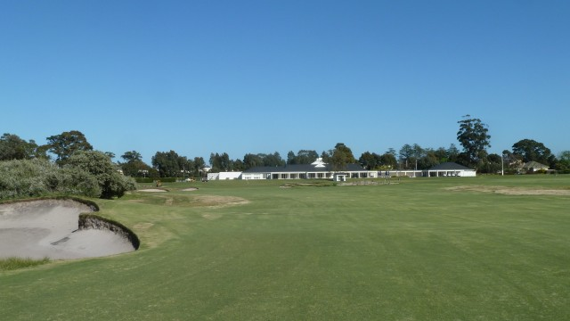 The 6th fairway at Kingston Heath Golf Club