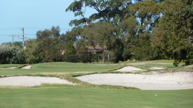 The 8th fairway at Kingston Heath Golf Club