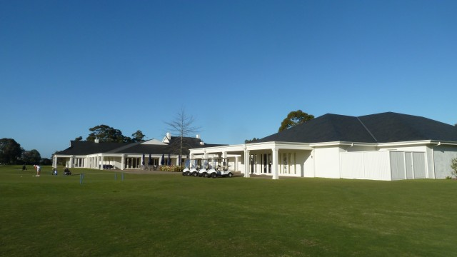 The Clubhouse at Kingston Heath Golf Club
