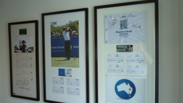 Memorabillia at Kingston Heath Golf Club