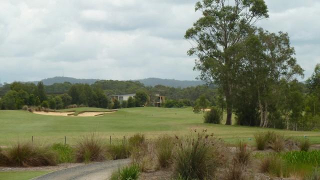 The 11th tee at Kooindah Waters Golf Club