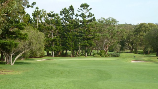 The 11th green at Monash Country Club