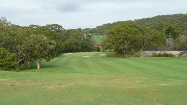 Looking down the 13th fairway at Monash Country Club