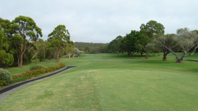The 13th tee at Monash Country Club