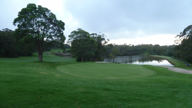 Looking back from the 14th green at Monash Country Club