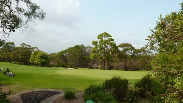 The 16th green at Monash Country Club