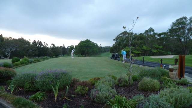 The 1st tee at Monash Country Club