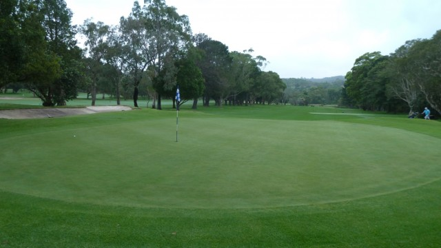 Looking back from the 2nd green at Monash Country Club