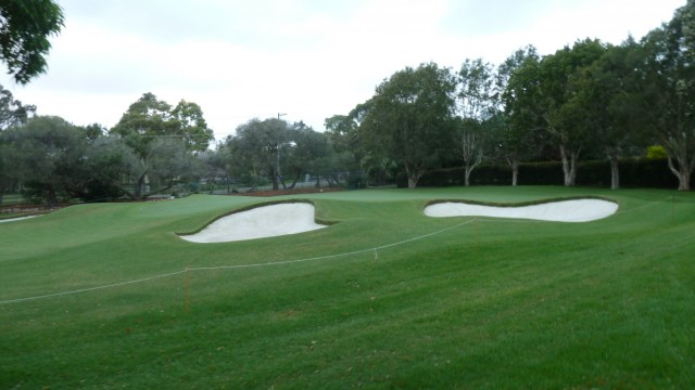 The 3rd green at Monash Country Club