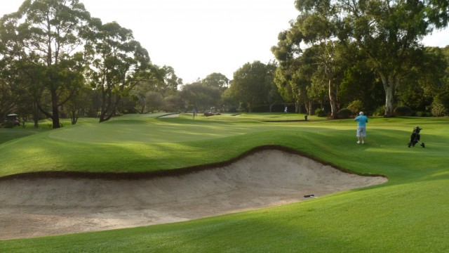 The 6th tee at Monash Country Club
