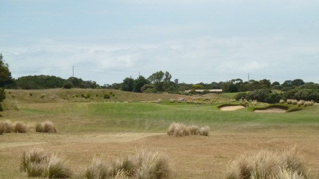 The 11th tee at Moonah Links Open Course
