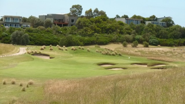 The 13th tee at Moonah Links Open Course