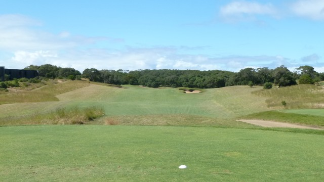 The 1st tee at Moonah Links Open Course