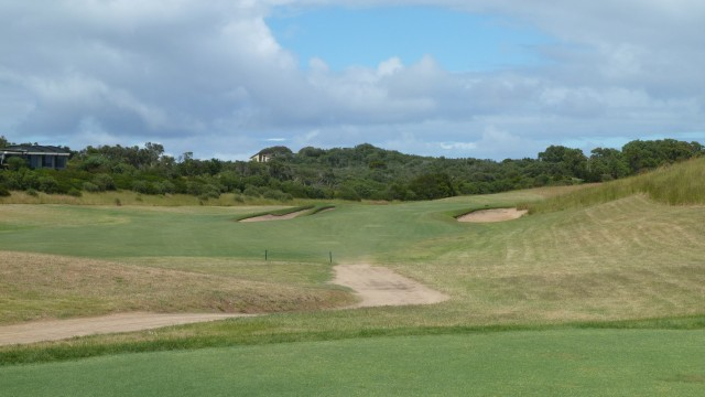 The 2nd tee at Moonah Links Open Course