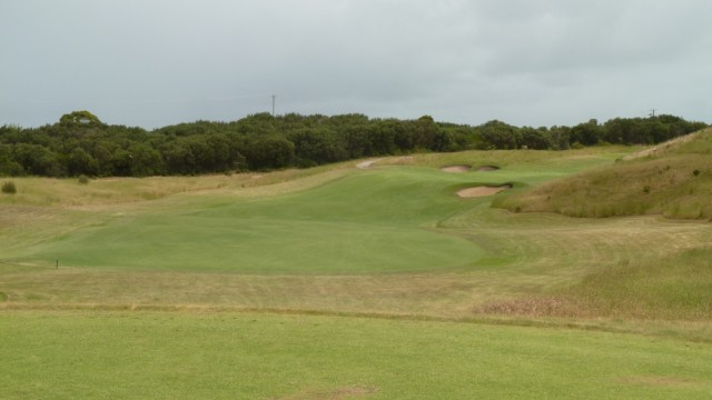 The 3rd tee at Moonah Links Open Course