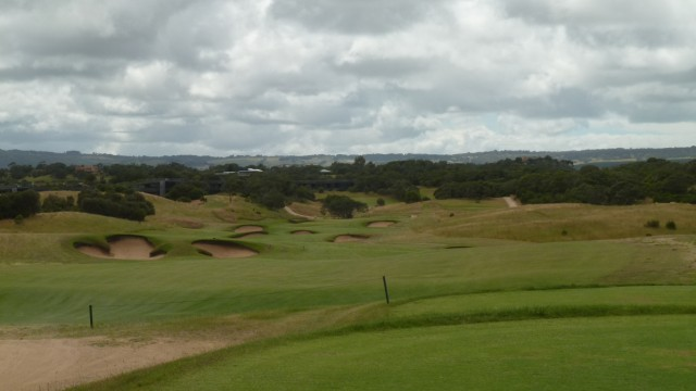 The 4th tee at Moonah Links Open Course