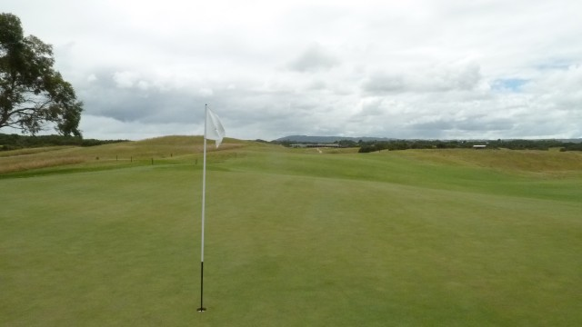 The 6th green at Moonah Links Open Course