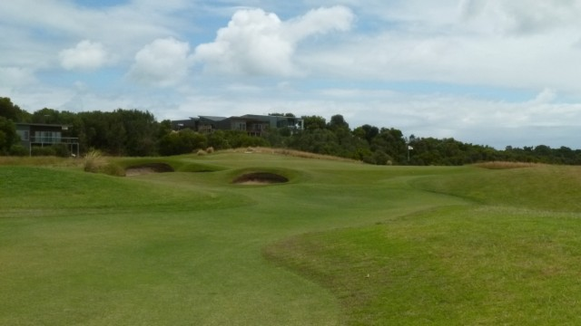 The 7th tee at Moonah Links Open Course