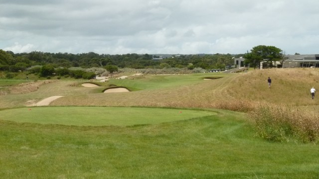 The 9th tee at Moonah Links Open Course