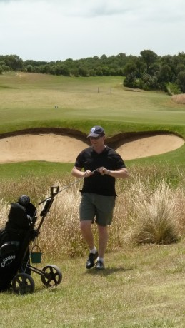 Jams on the 9th at Moonah Links Open Course