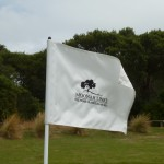 The pin flags at Moonah Links