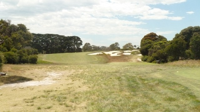 The 18th tee at Royal Melbourne Golf Course (West)
