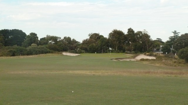 The 4th fairway at Royal Melbourne Golf Course (West)