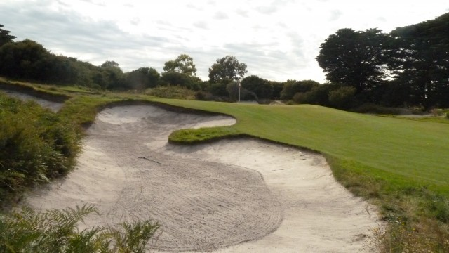 The 5th green at Royal Melbourne Golf Course (West)
