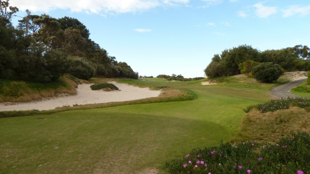 The 12th tee at The Lakes Golf Club