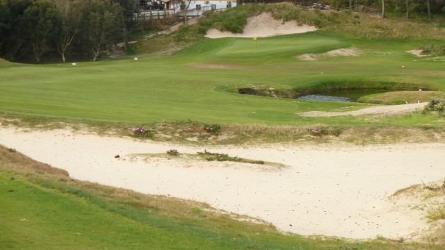 The 13th fairway at The Lakes Golf Club