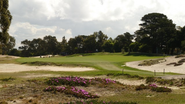 The 4th tee at The Lakes Golf Club