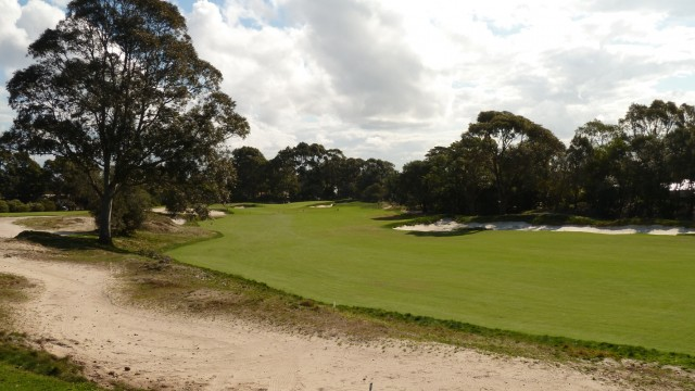 The 5th fairway at The Lakes Golf Club