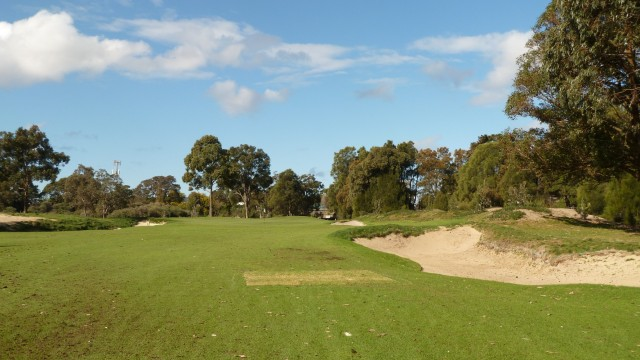The 8th fairway at The Lakes Golf Club