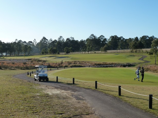 The 3rd fairway at The Vintage
