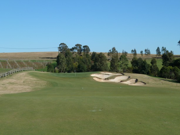 The 7th fairway at The Vintage